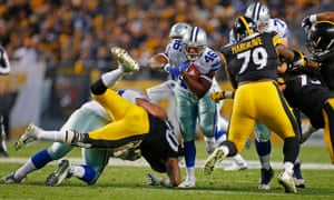 During the Steelers-Cowboys game on Sunday, there were 30 commercial interruptions during the broadcast on the Fox network.