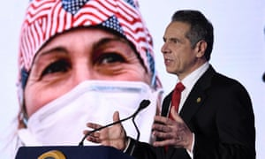 New York governor Andrew Cuomo has agreed to widen vaccine eligibility to people aged 65 and over