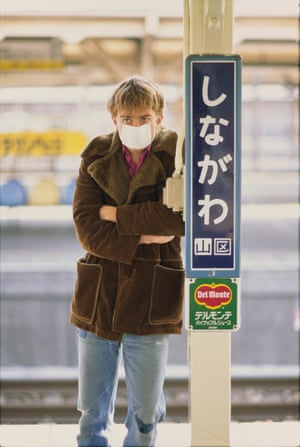 'Unlike a lot of rock stars, Damon actually carried money around with him and bought drinks' … the Blur frontman in Japan in 1992.
