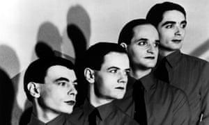 Kraftwerk (l-r): Karl Bartos, Ralf Hütter Florian Schneider and Wolfgang Flür.