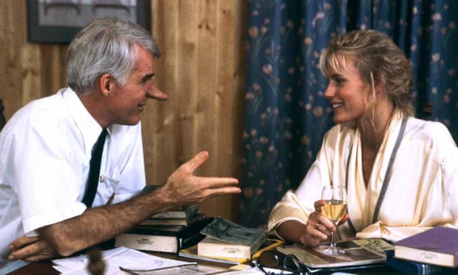 Steve Martin and Daryl Hannah in Roxanne
