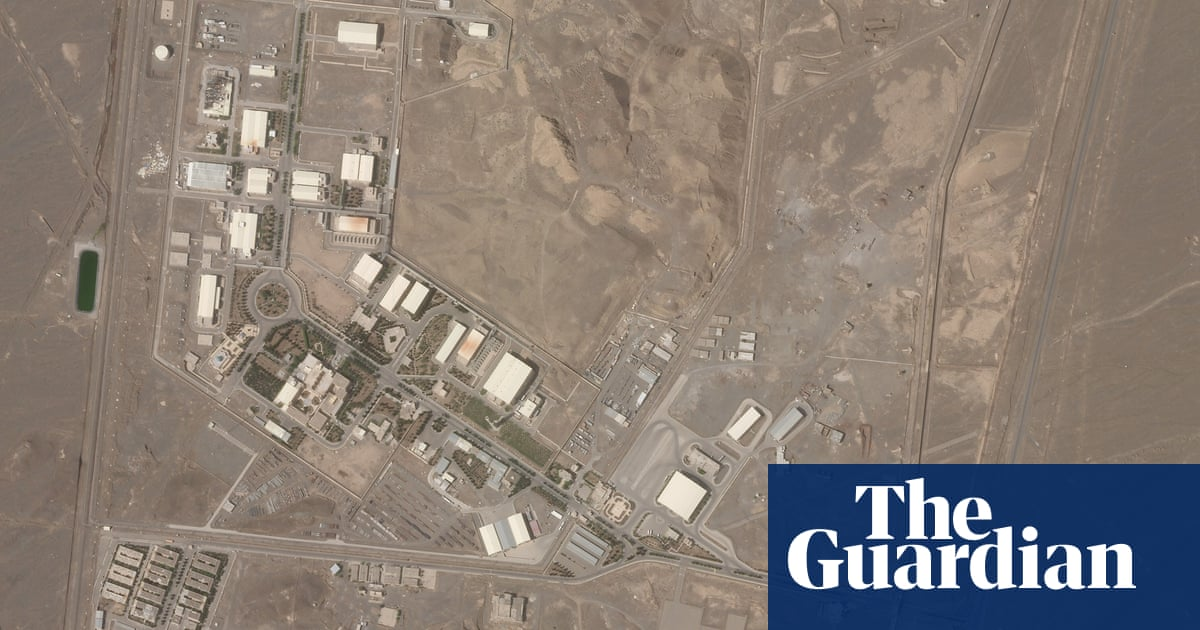 'Accident' at Iran's Natanz nuclear facility – video