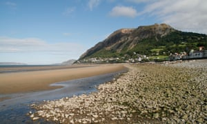 Llanfairfechan beach, Conwy