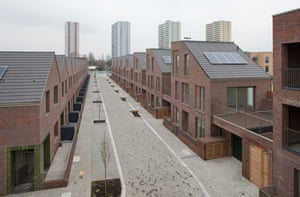 Dujardin Mews in Enfield. Every party promises to increase the social housing stock