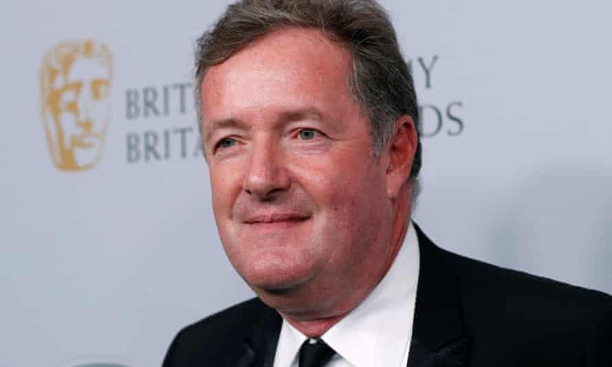 The GMB presenter Piers Morgan