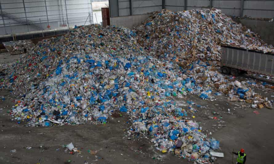 A processing plant in Brooklyn, New York. Americans recycle 35% of their waste, the study found, as compared with Germany's 68%.