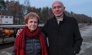 Peter Lantos and Mala Tribich revisit the death camp in Belsen: Our Story.