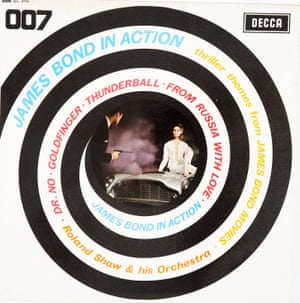 007 This wasn't the original soundtracks of the film but versions done by Roland Shaw, an arranger who had worked with lots of very respected artists. The sleeve is fabulous: it's got the gun barrel, the smoke, the Aston Martin... At no point does it say it's official, but it also doesn't say it's unofficial