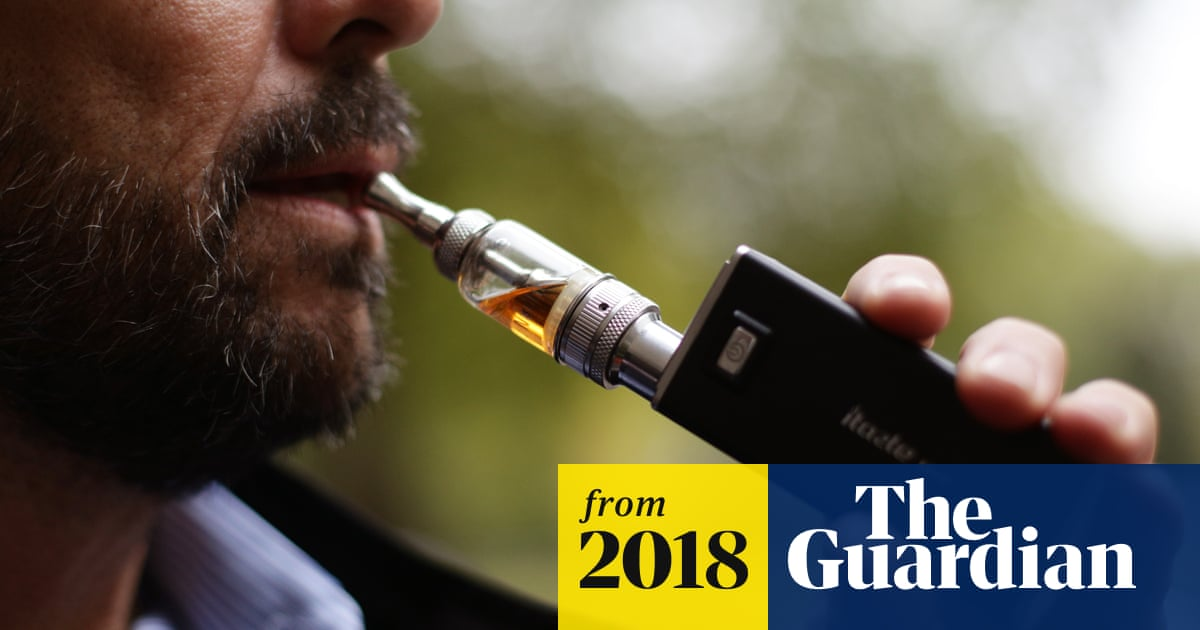 Vaping may raise cancer and heart disease risk, study