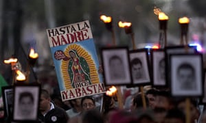 Federal authorities have blamed the disappearance of the 43 students on the Guerreros Unidos drug cartel with the help of local police.
