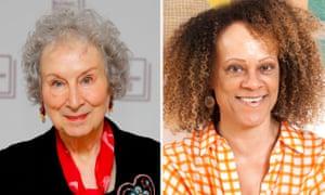 Margaret Atwood (l) and Bernardine Evaristo.