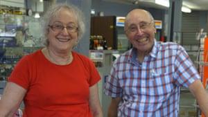 Karen and Barry Mason