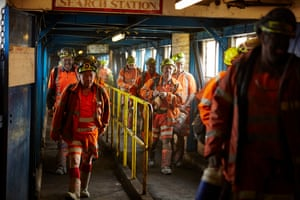 Kellingley Colliery in Yorkshire, the last remaining deep coal mine in the country, closes before Christmas