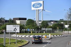 The Ford engine plant near Bridgend, south Wales