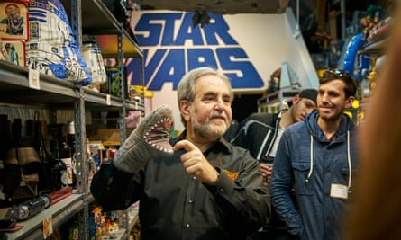 Steve Sansweet shows off his collection of Star Wars memorabilia at his museum, known as Rancho Obi-Wan.