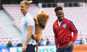 Joe Hart and Raheem Sterling