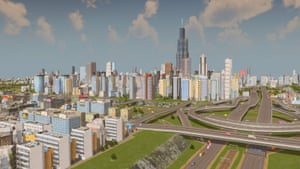 An 'old school city builder for the modern gamer', in City: Skylines, players take on the role of urban planner to control public services, taxation, zoning and transportation. This player has re-created Chicago, Illinois.