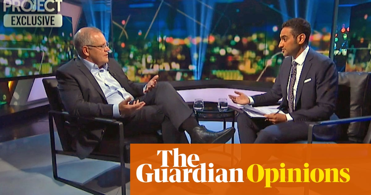 On The Project, Morrison didn't want to be prejudged. Surely he's well past that stage | Katharine Murphy