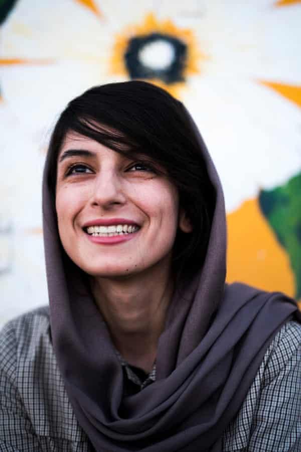 Neda Taiyebi, an Iranian painter.