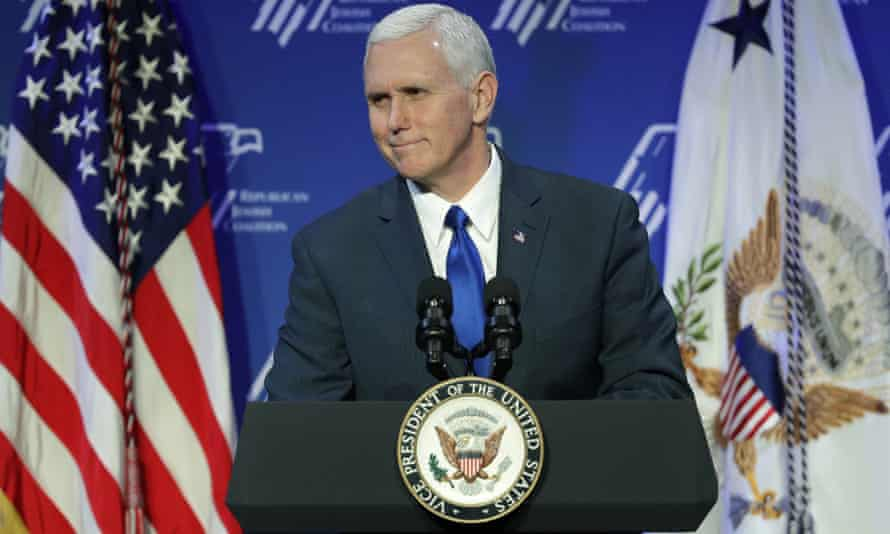 Mike Pence in February 2017.