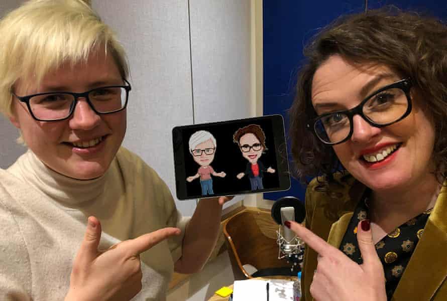 Extra Life's Keza MacDonald and Ellie Gibson.