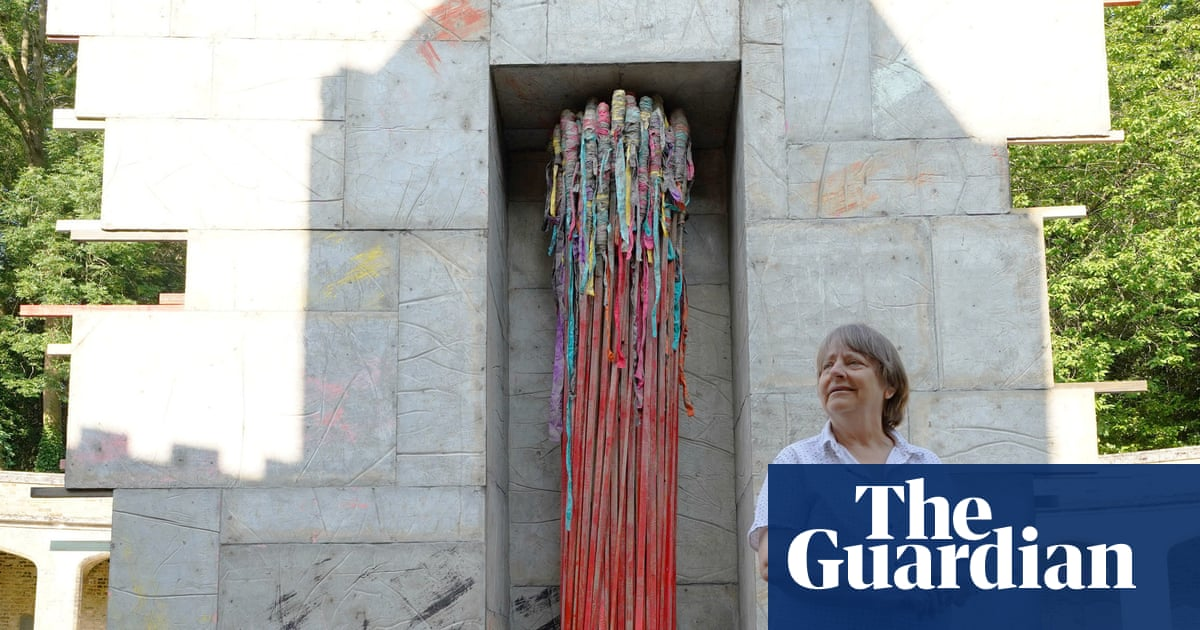 Rocket from the crypt! Phyllida Barlow on her Highgate cemetery sculpture