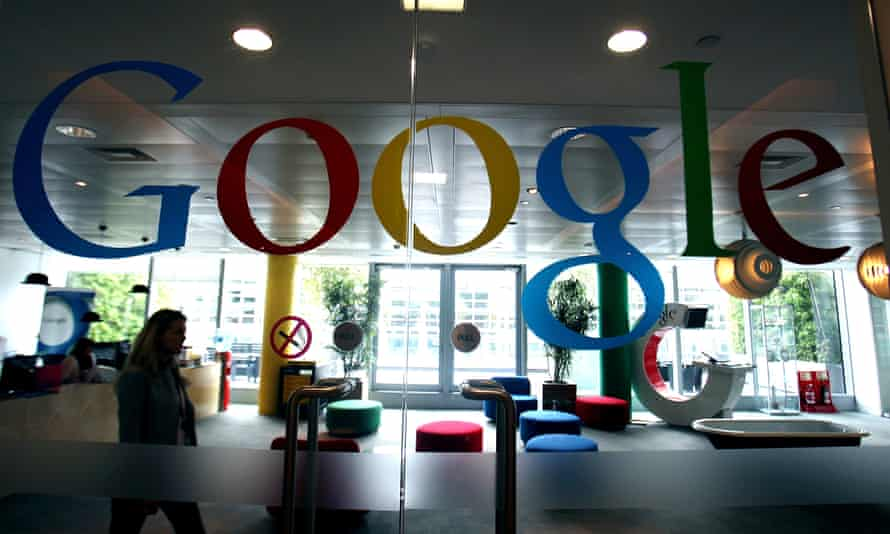One of Google's London offices
