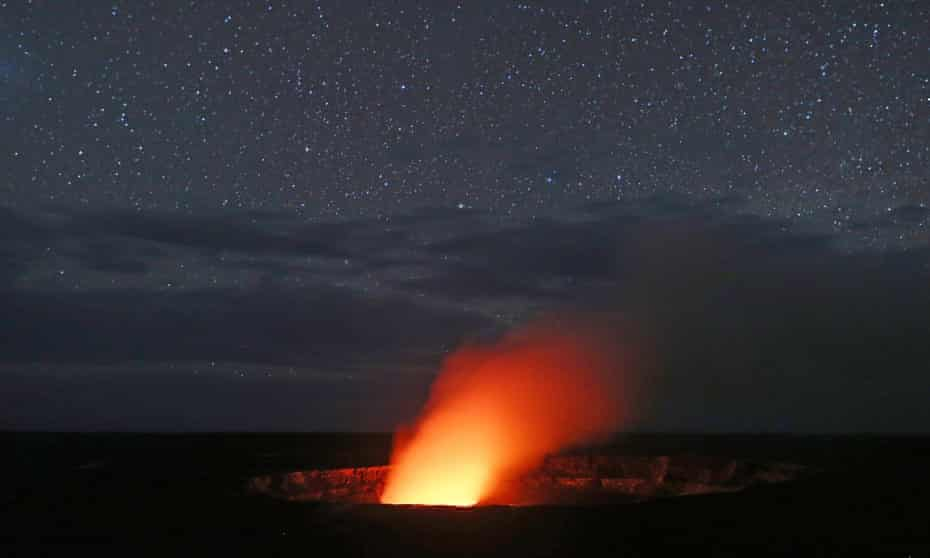 Kilauea Volcano began erupting in May, causing evacuations and destroying homes.