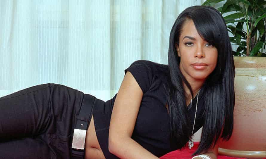 Aaliyah in 2001.