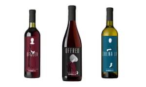 The Handmaid's Tale wine collection.