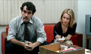 Brian d'Arcy James and Rachel McAdams in Tom McCarthy's Spotlight.