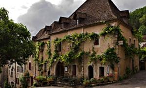 Auberge du Sombral, Saint Cirq Lapopie, Lot.