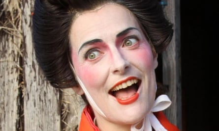 Comedian Kate Hanley Corley, creator of Aisha the Aussie Geisha, pulled her show from the Melbourne fringe festival. The listing for the show featured Corley in geisha-style makeup and clothing.