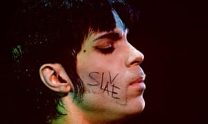 After Prince fell out with Warner Bros, he made his feelings towards the label explicit by writing SLAVE on his cheek whenever he appeared in public.