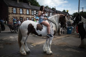 Appleby, EnglandThousands of Gypsies and Travellers from across Britain congregate at the Appleby horse fair in Cumbria to buy and sell horses.