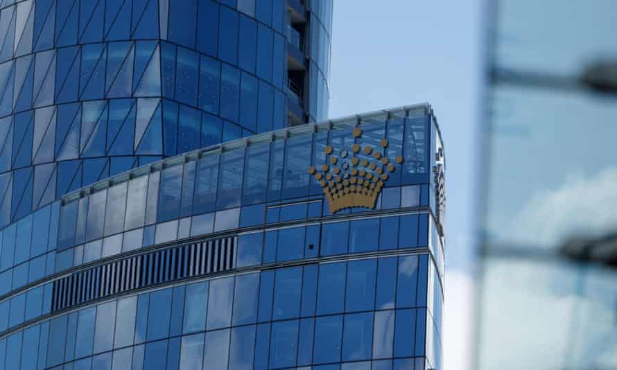 The Crown Resorts development at Barangaroo in Sydney