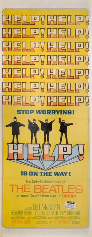 HELP! American film poster, 1965