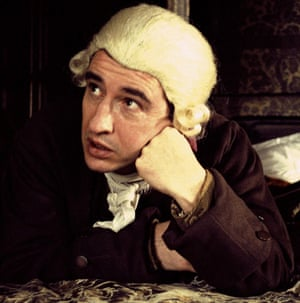 Steve Coogan in Michael Winterbottom's A Cock and Bull Story, an adaptation of Laurence Sterne's The Life and Opinions of Tristram Shandy.