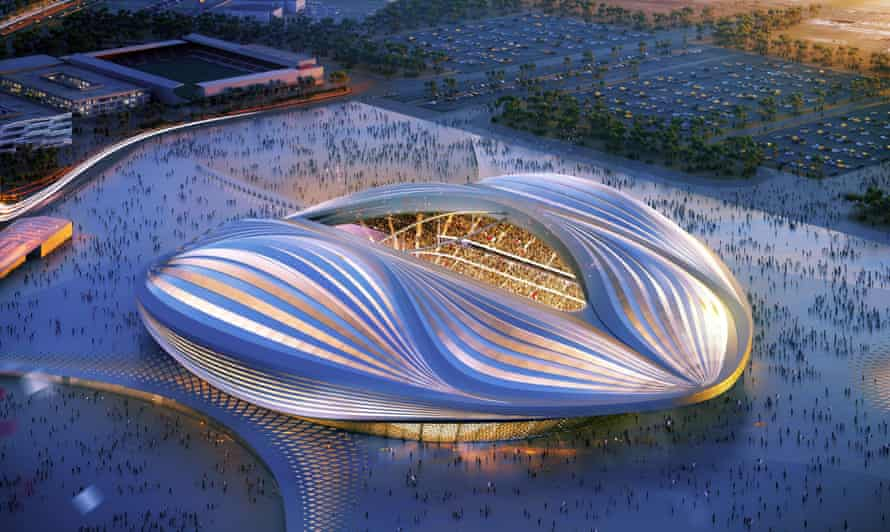 A computer generated image of the stadium