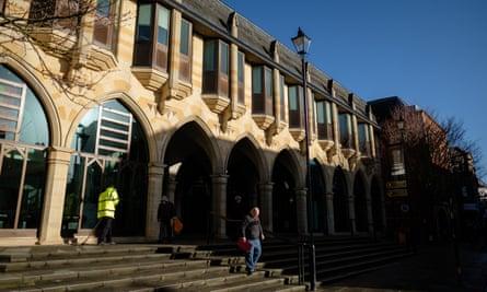 Northampton borough council building