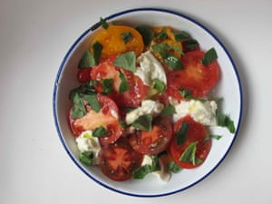 Russell Norman's caprese.