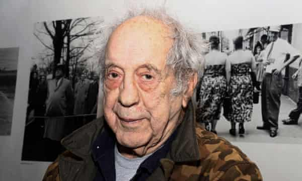 The Swiss-born American photographer Robert Frank, who has died aged 94, in New York in 2016.