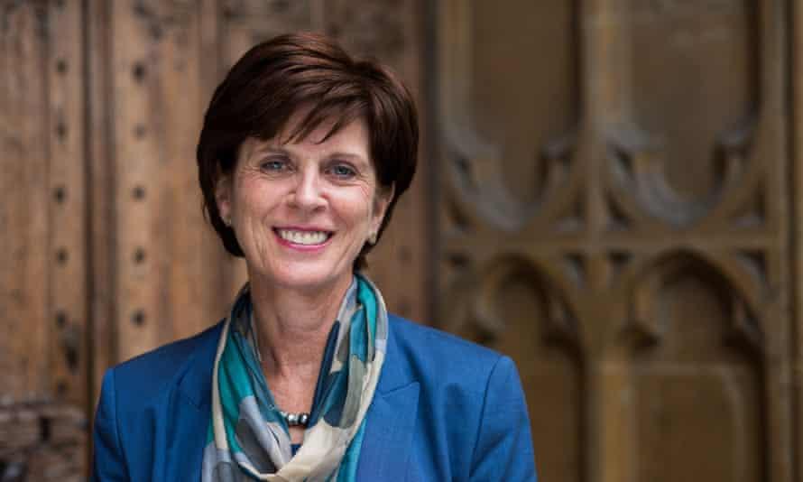 Louise Richardson, vice-chancellor of Oxford