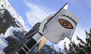 The Picasso totem pole