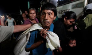 Nicaraguans evacuated