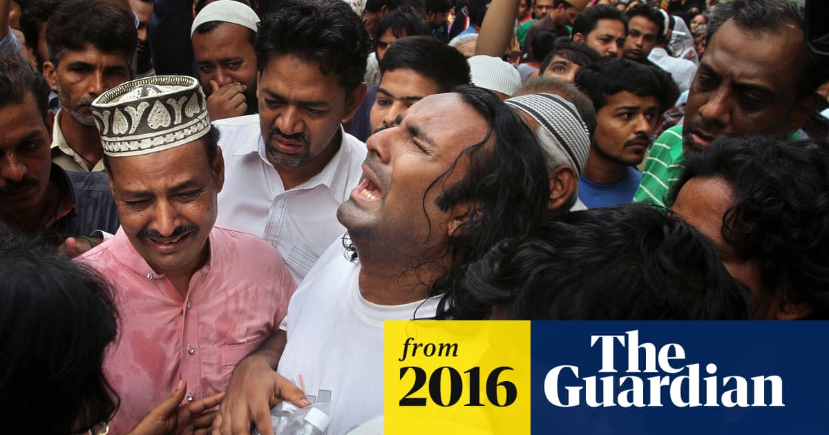 Amjad Sabri: Pakistani Sufi singer shot dead in Karachi | World news