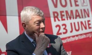 Remain campaigner Alan Johnson