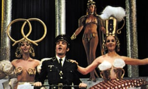 'Don't be stupid, be a smarty, come and join the Nazi party' ... the Springtime for Hitler scene in The Producers, 1967.