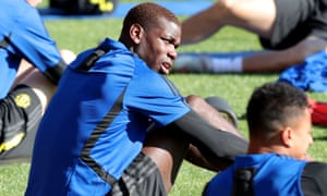 Paul Pogba during a Manchester United in Perth during the club's pre-season tour.