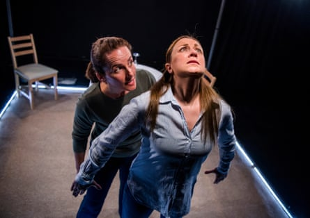 Eilidh Talman and Christina Berriman-Dawson in Rattle Snake, directed by Charlotte Bennett, at Soho theatre.